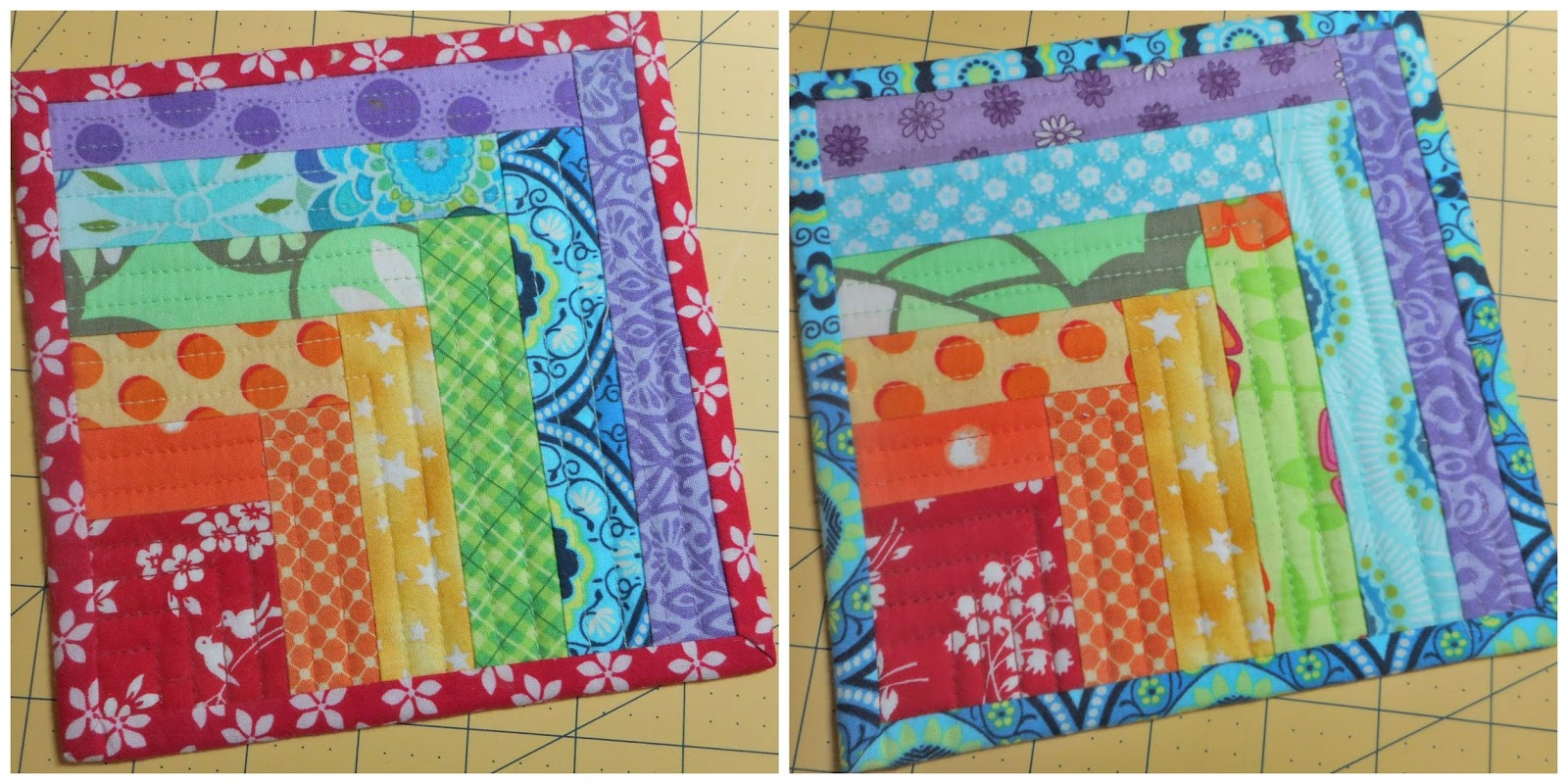 Log Cabin Quiltery Bonus Points Tutorial A Layer Cake
