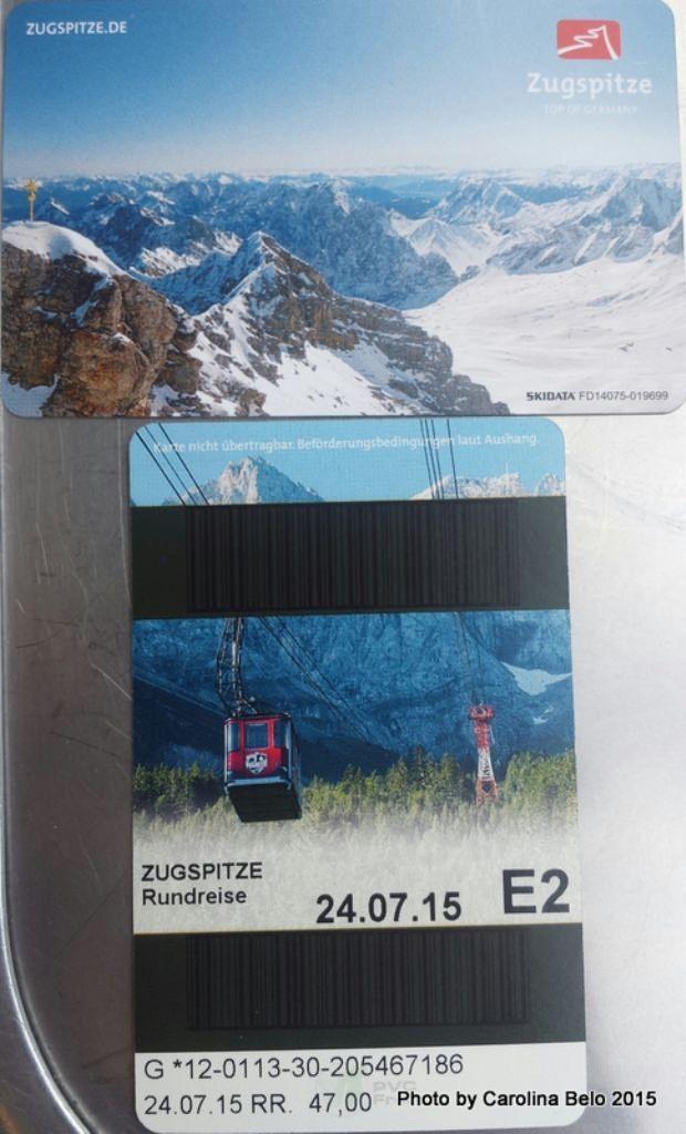 Ticket para Zugspitze