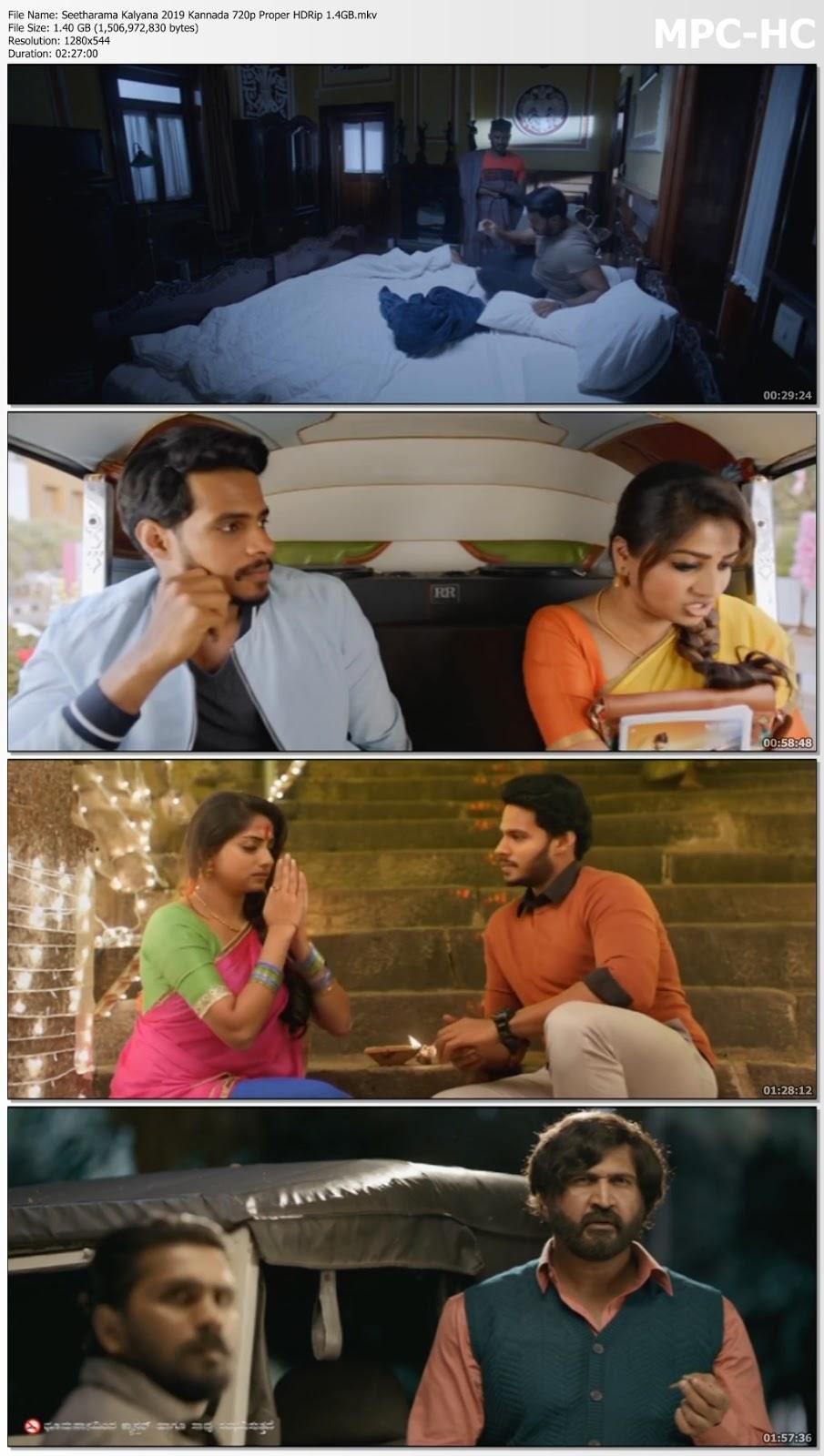 Seetharama Kalyana 2019 Kannada 720p Proper HDRip 1.4GB Desirehub