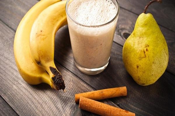 receta de licuado de pera con banana