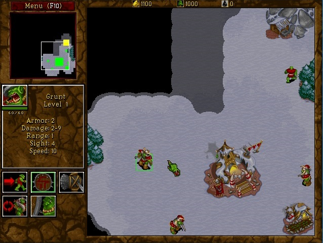 Screenshot of Warcraft II