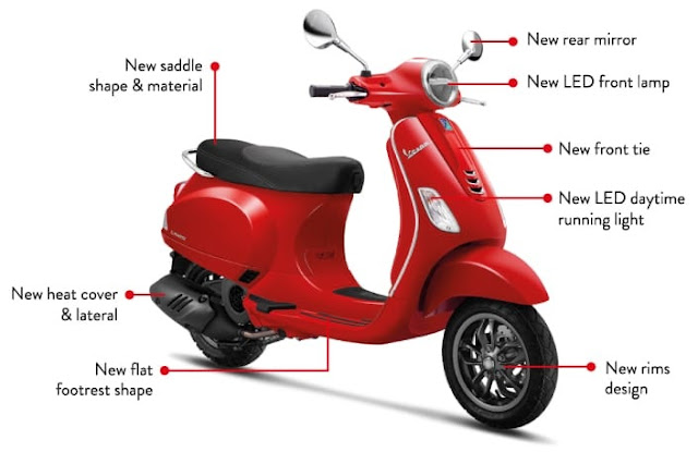 New Vespa LX 125 I-get Indonesia Red