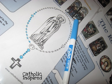 graphic about Moms in Prayer Sheets identified as Rosary Prayer Sheets! Good for Small children and Adolescents - Catholic