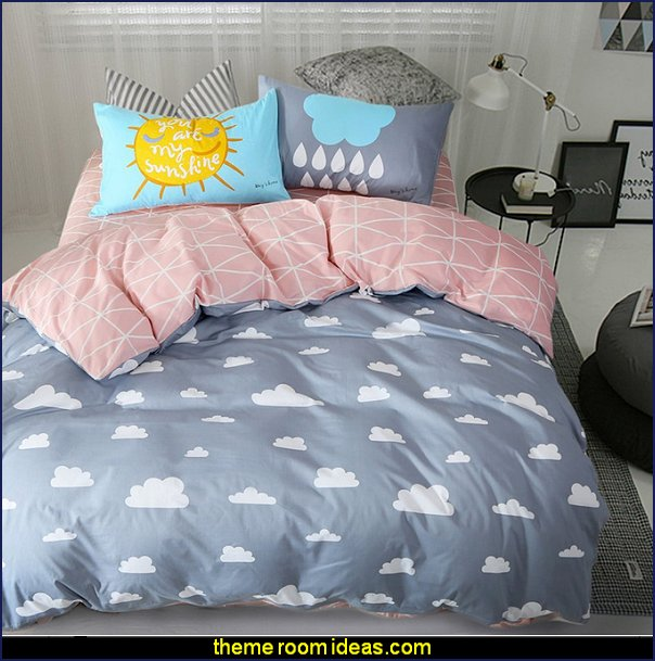 Cloud Rain Bedding