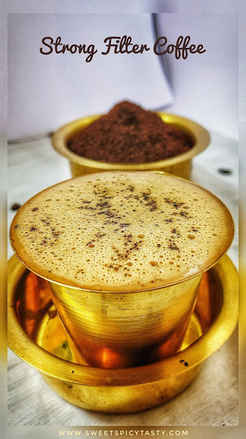 How to brew the perfect cup of filter coffee ? ,percolator method to brew south indian filter coffee,  घर में फिल्टर कॉफी,  फिल्टर कॉफी,  मद्रासी कॉफी,  what is a plunger in coffee filter , how many spoons of coffee powder should we use to get thick decoction