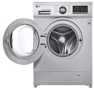 LG 7 kg Inverter Fully-Automatic Front Loading Washing Machine (FH2G6HDNL42 Luxury Silver Inbuilt Heater).