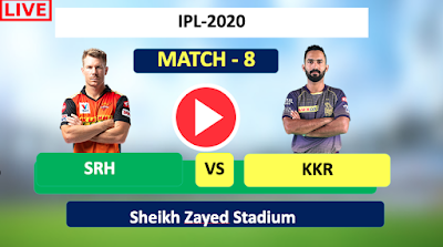 Kolkata vs Hyderabad, 8th Match - Live Streaming ,SRH have won the toss and have opted to bat