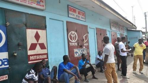 Tension As Ghanaian Traders Lock-up Nigerians' Shops Again