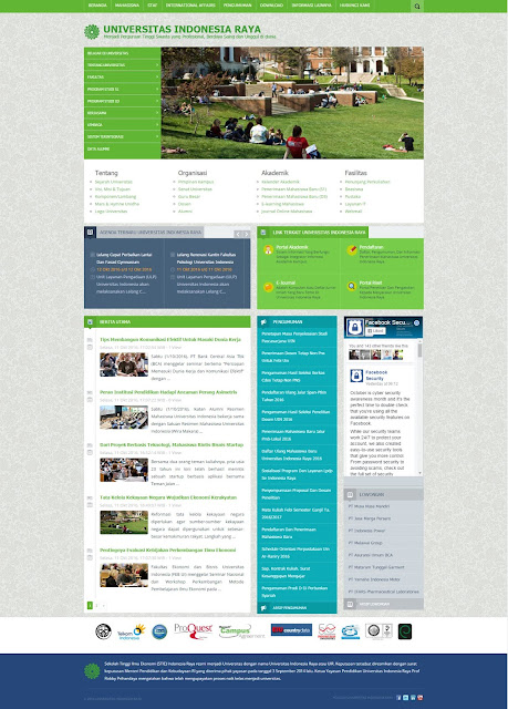 Web Portal Kampus Responsive dengan Codeigniter 3.x Support PHP 7