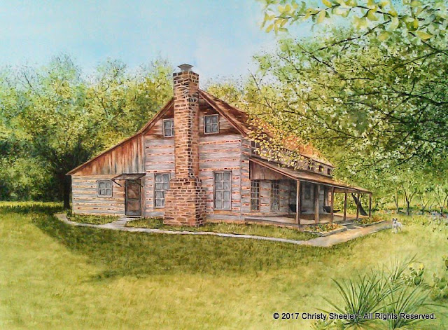The Ivy Ranch on the Brazos River by Christy Sheeler