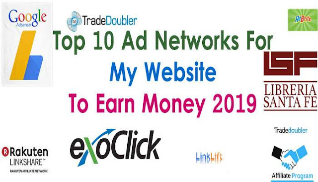 Top 10 Ad Networks For My Website To Earn Money 2019 - BishuTricks