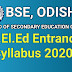 Odisha Scert CT Syllabus 2020, Odisha CT Syllabus 2020 Pdf Download