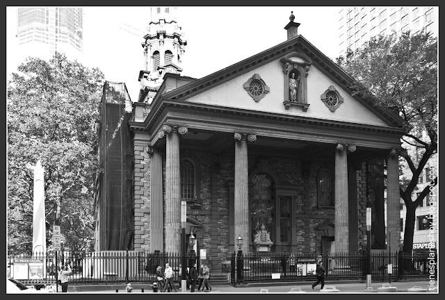 Capilla St Paul Nueva York
