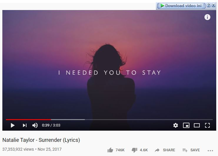 download lagu surrender natalie taylor - viral