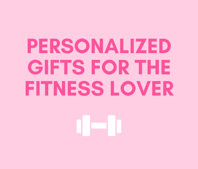 Personalized Gifts for the fitness lover from maleyli