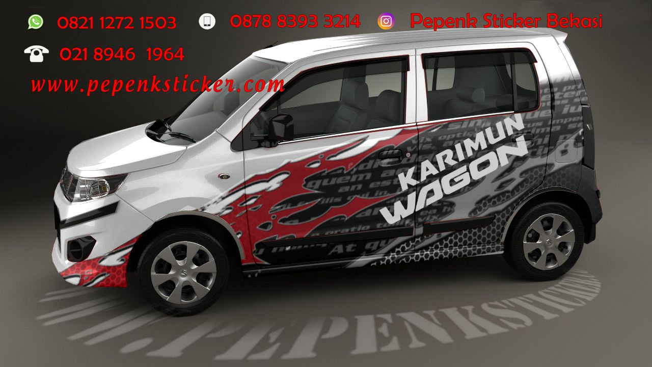 Cutting sticker bekasi sticker cutting bekasi gettinlow suzuki wagonr