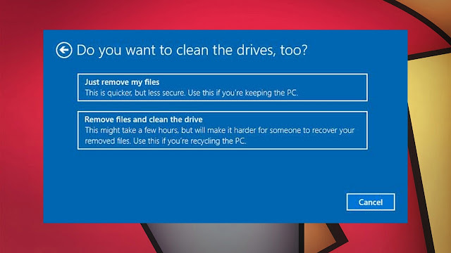 سارع اليك 3 طرق لإعادة ضبط ويندوز 10 الكمبيوتر إلى إعدادات المصنع
