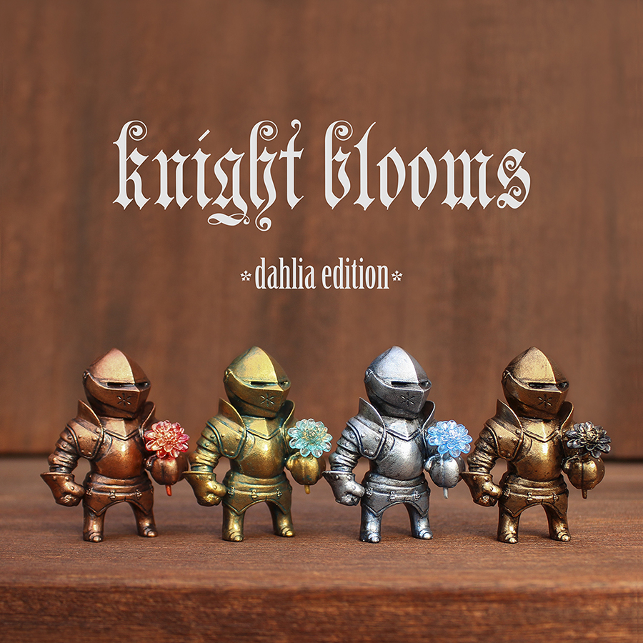 KNIGHT BLOOMS: Dahlia Edition by Fiona Ng Available For Pre-orders Now!