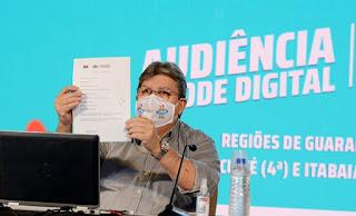 Orçamento Democrático: João autoriza novas obras e destaca investimentos nas regiões de Guarabira, Itabaiana e Cuité