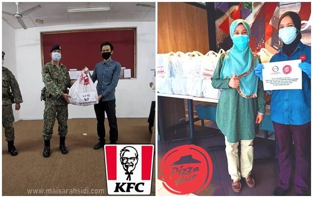 kfc pizza hut bantu rakyat