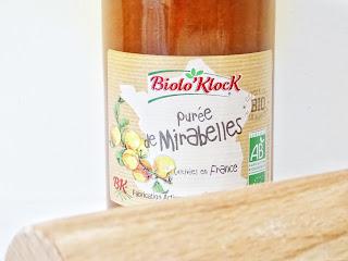 purée de mirabelles bio - Biolo'Klock