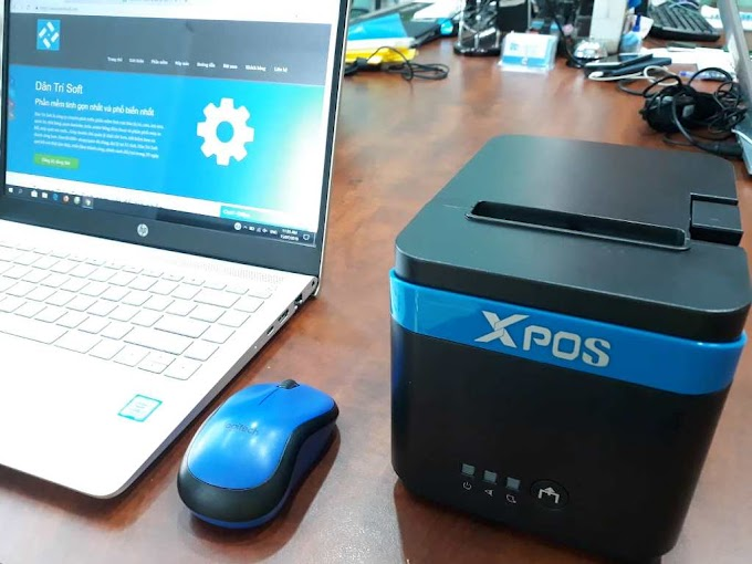 Máy in hóa đơn thanh toán khổ 80mm Xpos Q80II, thương hiệu Đài Loan, sản xuất Trung Quốc: 2.690.000đ