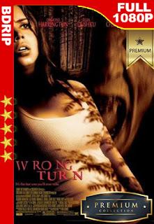 Camino Hacia el Terror (Wrong Turn) (2003) [1080p BDrip] [Latino-Inglés] [LaPipiotaHD]