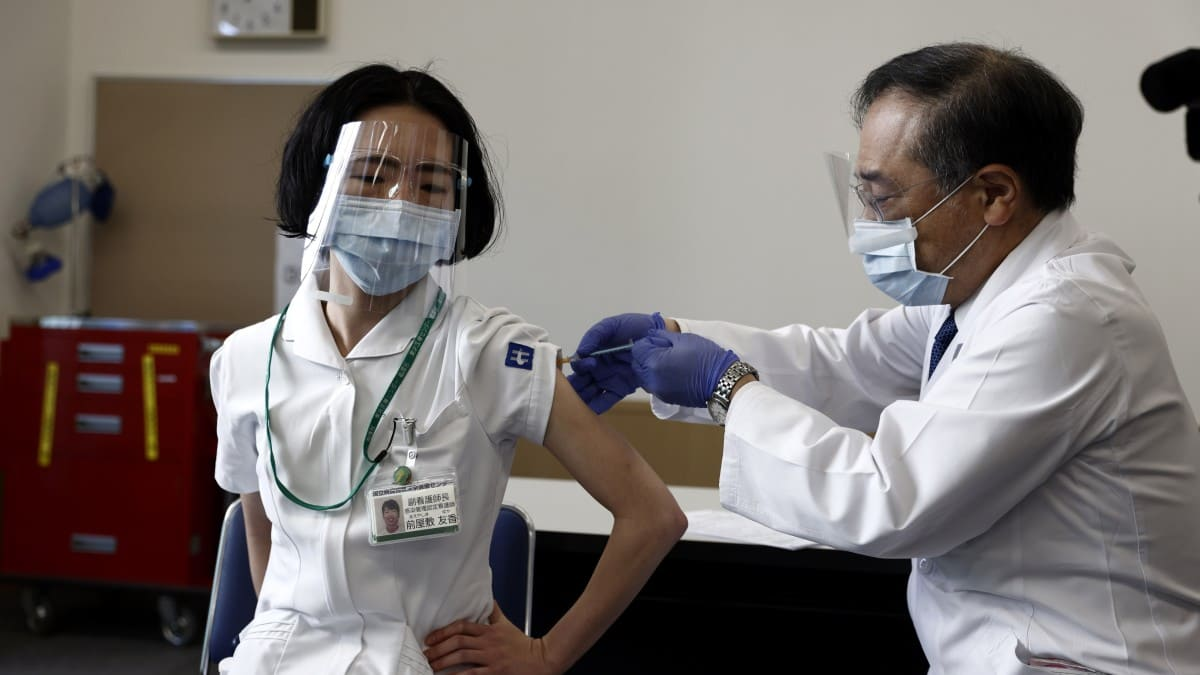 vacunacion japon