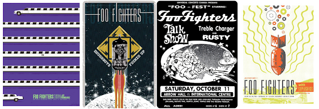 Foo Fighters 1 - Gigposters.com