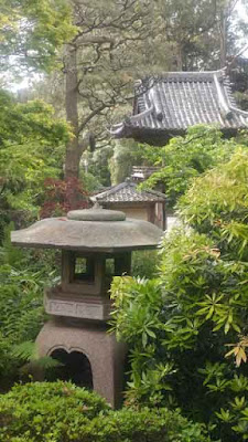San Francisco Japanese Tea Garden - Lanterns