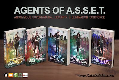 Agents of ASSET book series
