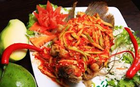 Resep Ikan Panggang Sambel Mangga