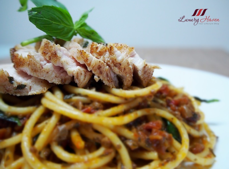 sundried tomato pasta chicken fillet sweet basil recipe