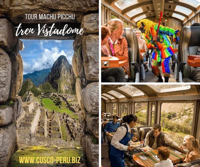 Tren Vistadome Machu Picchu