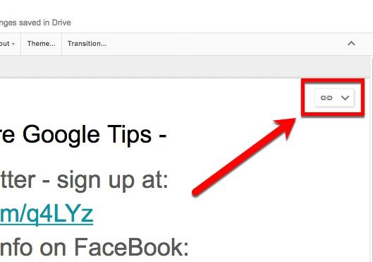 google slides share a slide instead of pasting it