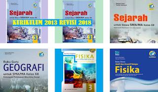 Daftar Buku Pelajaran Kelas 12 SMA Kurikulum 2013