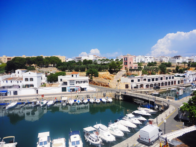 port in menorca