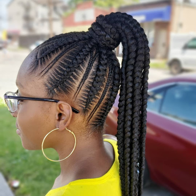 Latest Shuku Hairstyles 2020: Most trending braided hairstyles for ladies
