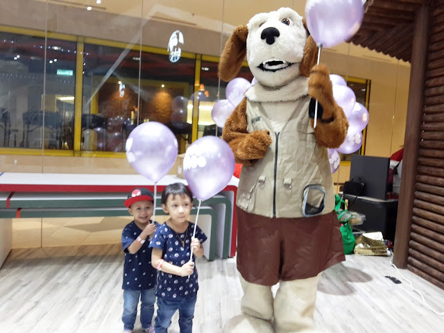 JUMPA FLASH THE DOG ZooMoo PARTY DI DREAMLAND PLAYLAND  THE STARLING MALL