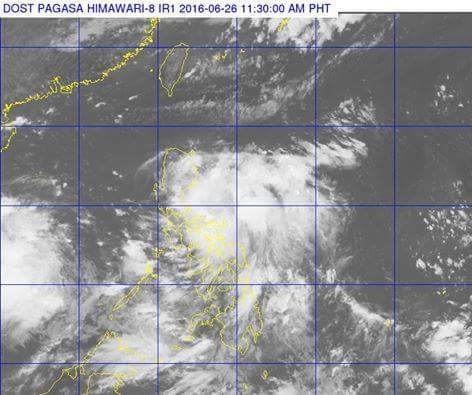 """Ambo"" now Typhoon, Signal no. 1 raises in 7 areas"