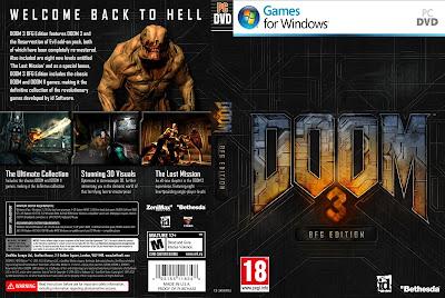 Doom 3 BFG Edition PC DVD Capa