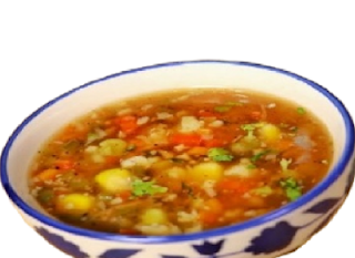 Healthy Mix vegetable soup simple easy recipe