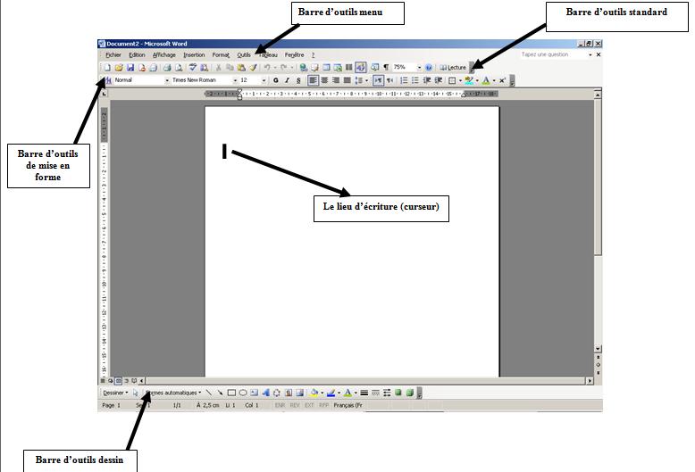 CH2 Leçon 1 Traitement de texte | cours informatiques pour ...