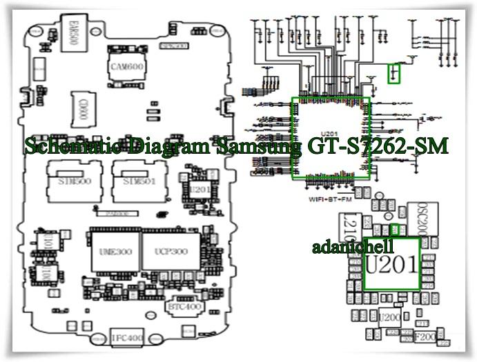 Schematic Diagram Samsung Gt-s7262-sm