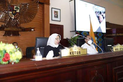 Rapat Paripurna DPRD NTB,Ini Rekomendasi DPRD NTB Terhadap LKPJ Gubernur NTB Tahun 2020