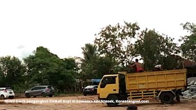 Aliansi Lembaga Tangerang Raya, Menyayangkan Terjadinya Pembuangan dan Penimbunan Limbah Kopi di Wilayah Kecamatan Kresek, Korantangsel.com