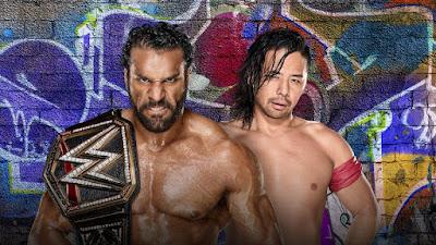 Summerslam 2017,Jinder Mahal vs. Shinsuke Nakamura WWE Championship