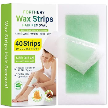 50% OFF Wax Strips Hair Removal Kit