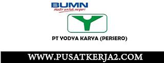 Lowongan Kerja BUMN Medan SMA SMK D3 S1 Mei 2020 PT Yogdya karya (Persero)