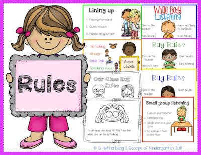 https://www.teacherspayteachers.com/Product/Class-Rules-Procedures-Posters-with-Student-Rug-Rules-Book-1341443